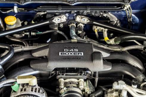 Subaru BRZ Review - Engine Up Close - Carwitter