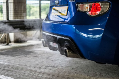 Subaru BRZ Review - Exhaust Pipes - Carwitter
