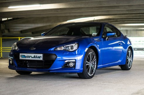 Subaru BRZ Review - Front Angle - Carwitter