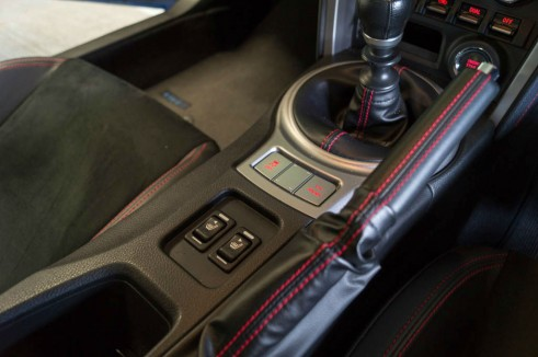 Subaru BRZ Review - Interior Switches - Carwitter