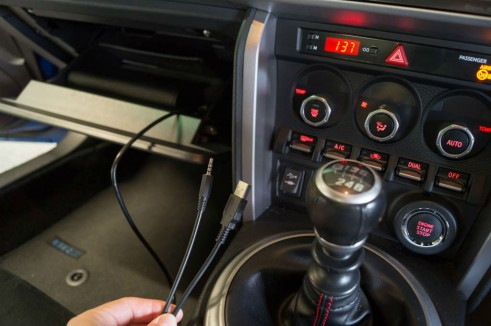 Subaru BRZ Review - Ipod Lead - Carwitter
