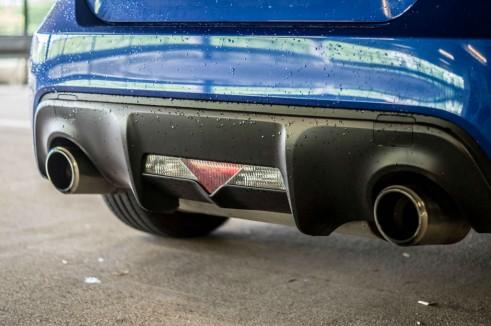 Subaru BRZ Review - Rear Diffuser - Carwitter