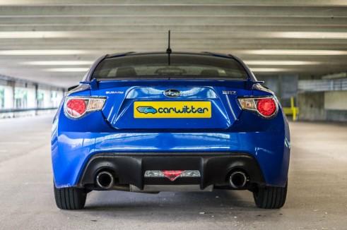Subaru BRZ Review - Rear Low - Carwitter