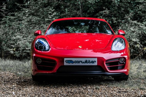 2014 Porsche Cayman Review - Front - carwitter