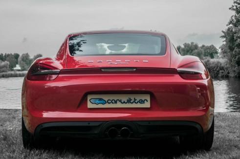 2014 Porsche Cayman Review - Rear - carwitter