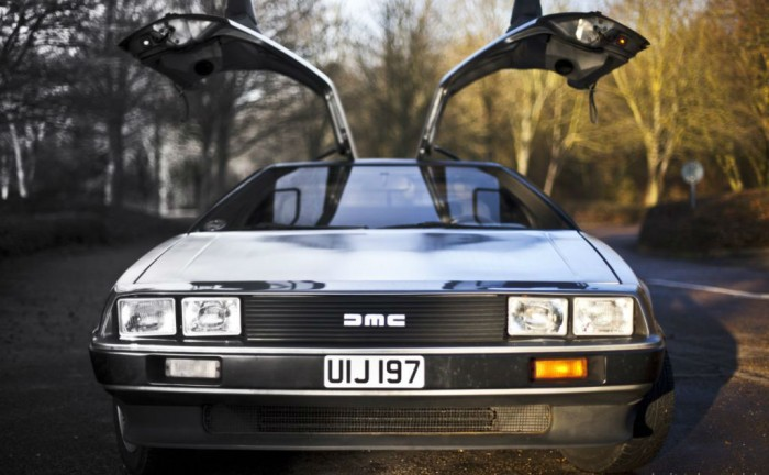 Delorean DMC 12 Doors Up carwitter 700x432 - Owning a DeLorean - Owning a DeLorean