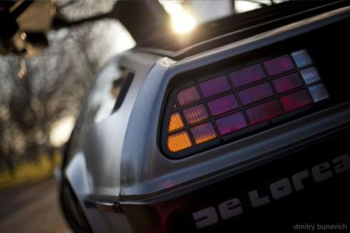 Delorean DMC 12 Rear Light carwitter 491x327 - Owning a DeLorean - Owning a DeLorean