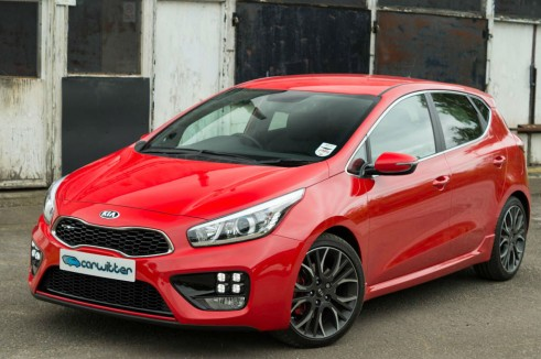 Kia Ceed GT Review Front Angle carwitter 491x326 - Kia Ceed GT Review – Four door fast - Kia Ceed GT Review – Four door fast