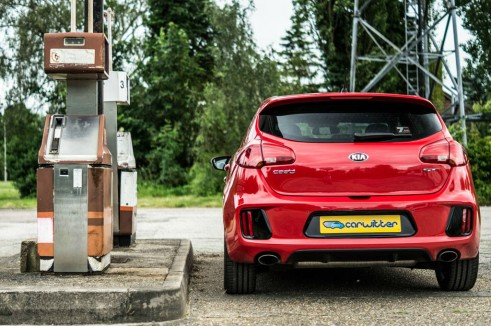 Kia Ceed GT Review Rear carwitter 491x326 - Kia Ceed GT Review – Four door fast - Kia Ceed GT Review – Four door fast