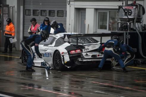 2014 Blancpain Endurance Series Nurburgring 1000 Sainteloc crash 2 carwitter 491x327 - Blancpain 2014 – Nurburgring – Vanthoor seals endurance title - Blancpain 2014 – Nurburgring – Vanthoor seals endurance title