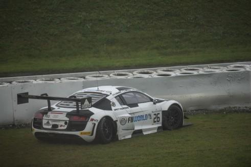 2014 Blancpain Endurance Series Nurburgring 1000 Sainteloc crash carwitter 491x327 - Blancpain 2014 – Nurburgring – Vanthoor seals endurance title - Blancpain 2014 – Nurburgring – Vanthoor seals endurance title
