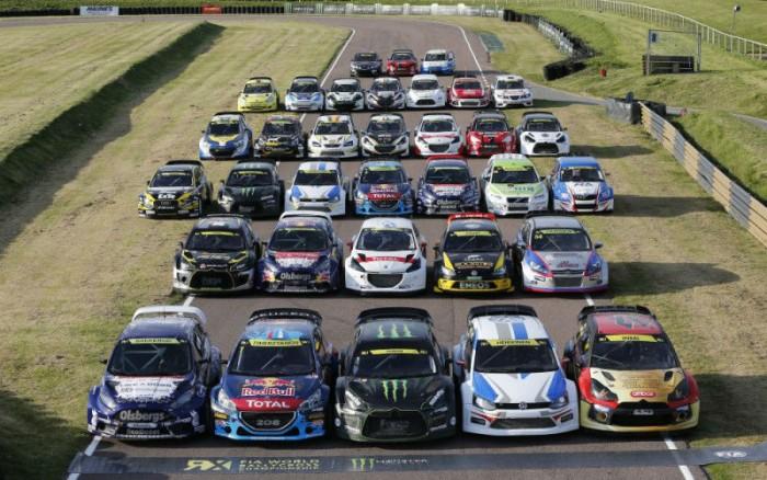 2014 FIA Rallycross Field - carwitter