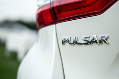 2014 Nissan Pulsar 1.2 DIG T Review Badge carwitter  491x326 - Nissan Pulsar 1.2 DiG-T Review – Nissan's family hatch contender - Nissan Pulsar 1.2 DiG-T Review – Nissan's family hatch contender