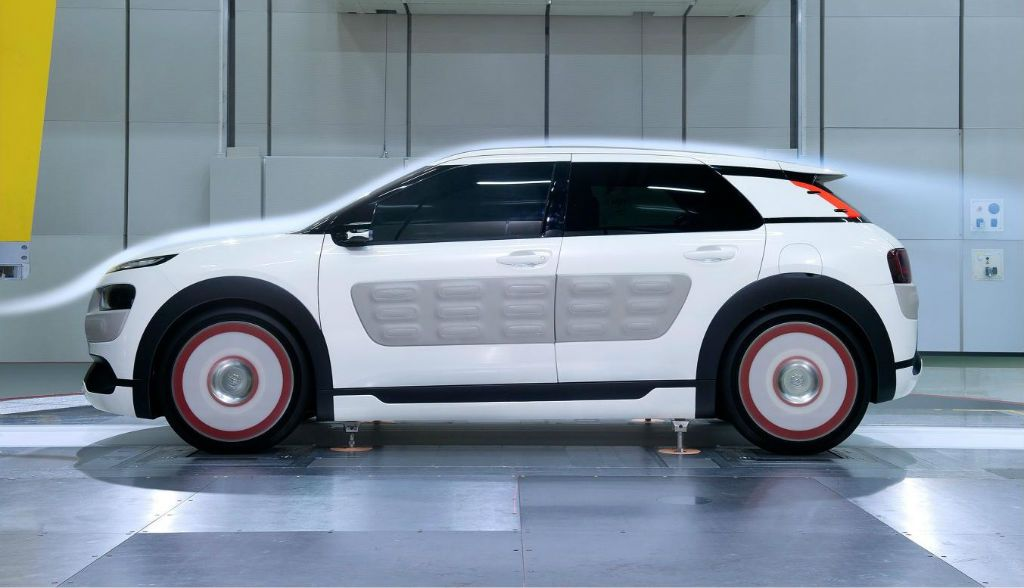 Citroen C4 Cactus Airflow 2l Concept Side Wind Tunnel Carwitter
