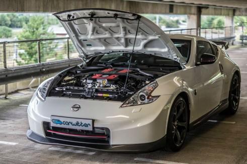 2014 Nissan 370Z NISMO Review Front Bonnet Open carwitter 491x326 - Nissan 370Z NISMO Review – Muscle Car - Nissan 370Z NISMO Review – Muscle Car