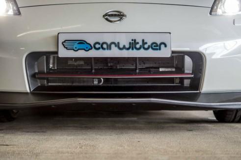 2014 Nissan 370Z NISMO Review Front Splitter carwitter 491x326 - Nissan 370Z NISMO Review – Muscle Car - Nissan 370Z NISMO Review – Muscle Car