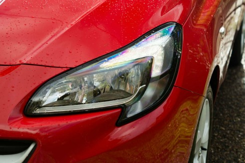 2015 Vauxhall Corsa Review - Headlight - carwitter