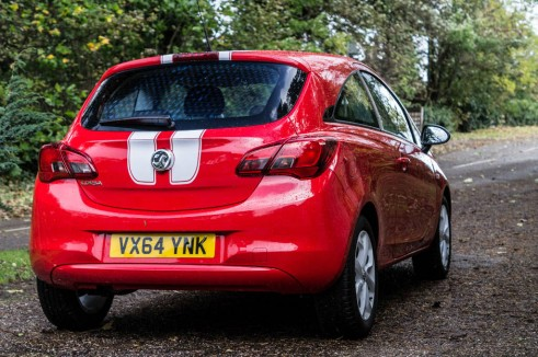 2015 Vauxhall Corsa Review - Rear Angle - carwitter