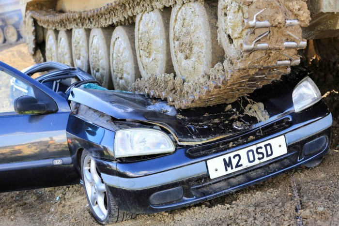 Tanks A Lot Crushing Cars With Money Supermarket Carwitter 0006 700x467 - Is Your Car Costing You Too Much? Here's Some Solutions - Is Your Car Costing You Too Much? Here's Some Solutions