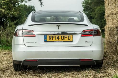 Tesla Model S P85 Plus Review UK Rear carwitter 491x326 - Tesla Model S P85 Plus Review - Speed redefined - Tesla Model S P85 Plus Review - Speed redefined