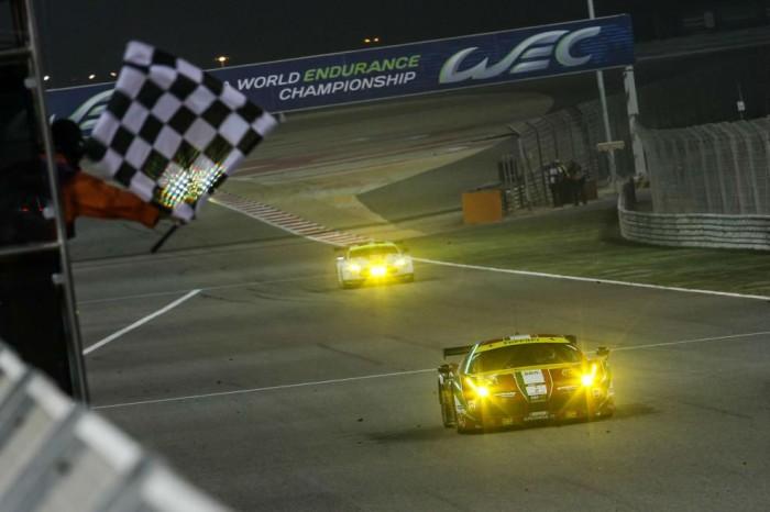 2014 WEC Bahrain GTE finish carwitter 700x466 - Motorsports Calendar November - December 2016 - Motorsports Calendar November - December 2016