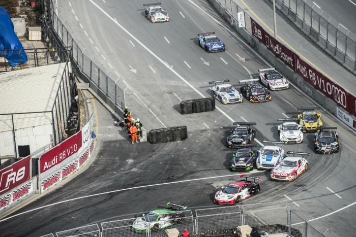 Blancpain Sprint Series Baku start - carwitter