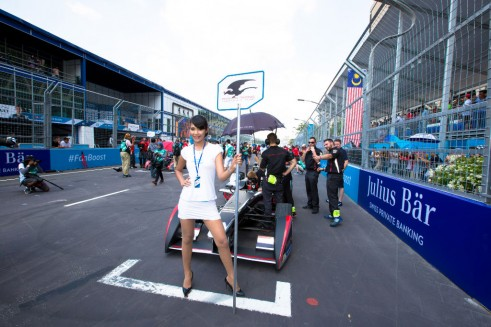 FIA Formula E Putrajaya ePrix 2014 004 491x327 - Formula E – Putrajaya – Sam Bird Dedicates Win to Jules Bianchi - Formula E – Putrajaya – Sam Bird Dedicates Win to Jules Bianchi