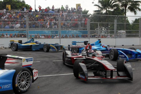 FIA Formula E Putrajaya ePrix 2014 006 491x327 - Formula E – Putrajaya – Sam Bird Dedicates Win to Jules Bianchi - Formula E – Putrajaya – Sam Bird Dedicates Win to Jules Bianchi