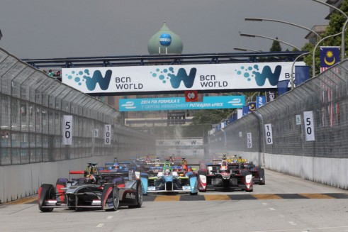 FIA Formula E Putrajaya ePrix 2014 009 491x327 - Formula E – Putrajaya – Sam Bird Dedicates Win to Jules Bianchi - Formula E – Putrajaya – Sam Bird Dedicates Win to Jules Bianchi