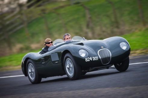 Jaguar Hertiage C-Type - carwitter