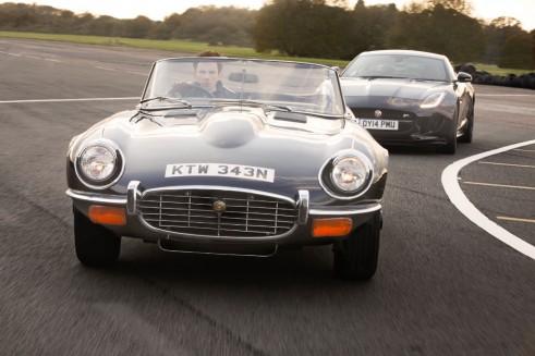 Jaguar Hertiage E-Type F Type - carwitter