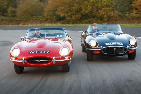 Jaguar Hertiage E-Types - carwitter