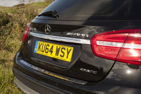 Mercedes GLA45 AMG rear 3 carwitter 491x328 - Mercedes Benz GLA45 AMG Review - Lifted, not tamed - Mercedes Benz GLA45 AMG Review - Lifted, not tamed