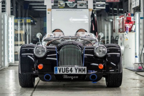 Morgan Plus 8 Speedster Review - Front Low In - carwitter
