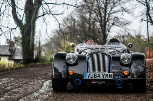 Morgan Plus 8 Speedster Review - Front Low - carwitter