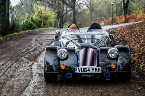 Morgan Plus 8 Speedster Review - Front - carwitter