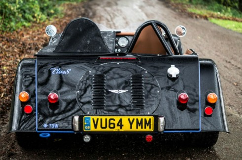Morgan Plus 8 Speedster Review - Rear Out - carwitter