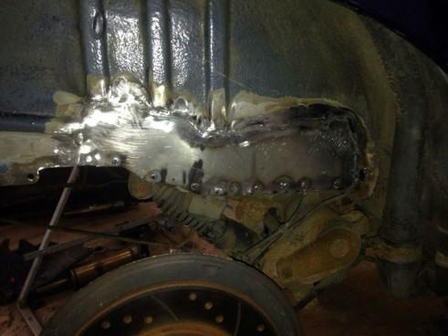 Peugeot 106 GTI Boot Rust - Carwitter - 001