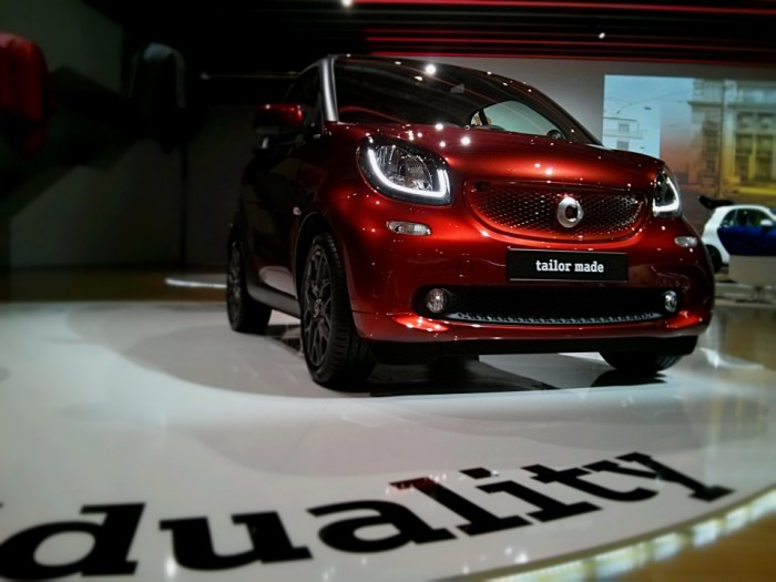Smart Fortwo Smart Launch Tailor made Brabus Carwitter 2014 700x525 - 2015 Smart ForTwo and ForFour Review - Grown up - 2015 Smart ForTwo and ForFour Review - Grown up