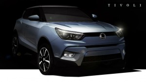 SsangYong Tivoli Crossover Front carwitter 300x170 - SsangYong launching crossover - SsangYong launching crossover