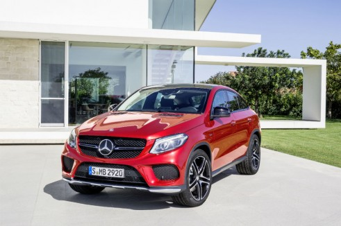 2015 Mercedes GLE Coupe AMG front - carwitter