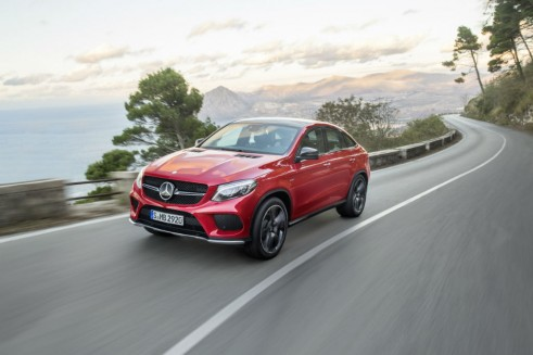 2015 Mercedes GLE Coupe - carwitter