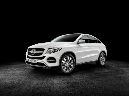 2015 Mercedes GLE Coupe front - carwitter