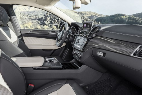 2015 Mercedes GLE Coupe interior - carwitter