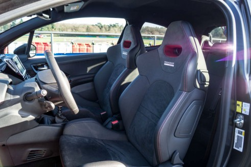 White Peugeot 208 GTI 30th Anniversary - Front Seats - carwitter