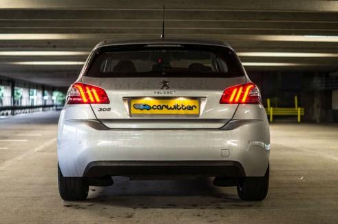 2015 Peugeot 308 1.2 THP - Rear - Carwitter