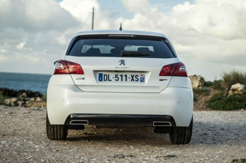 2015 Peugeot 308 GT Review - Rear - Carwitter