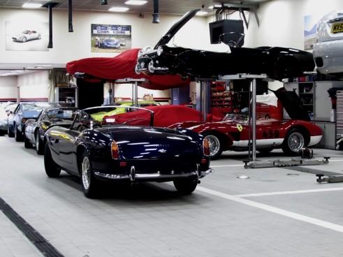 Ferrari250GTCaliforniaTestarossaDino512BBiCarwitter1 491x368 - We Visit Joe Macari Performance Cars - We Visit Joe Macari Performance Cars