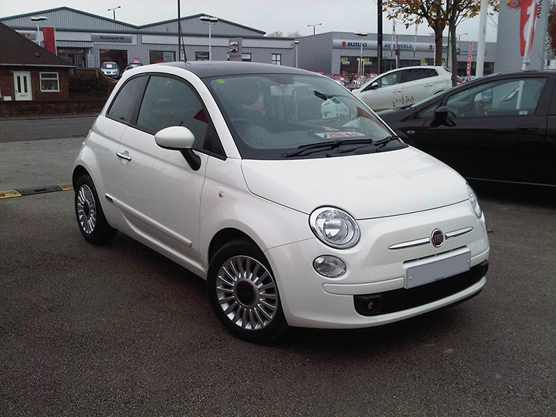 Emma's Fiat 500 Before