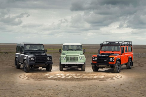 Land Rover Defender 2015 limited editions - carwitter